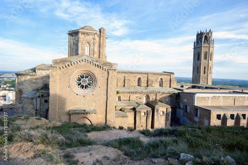 Cathedral of Lleida (La Seu vella).Catalonia.Spain