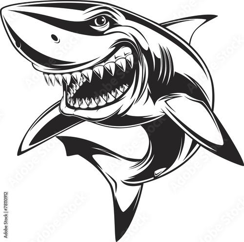 Obraz na plátne White shark