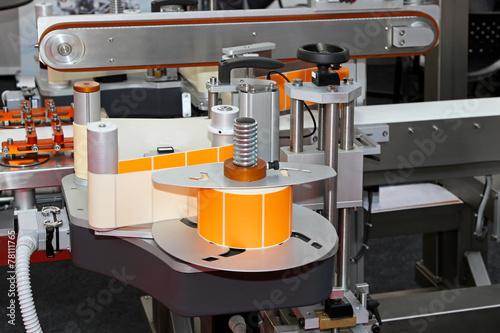 Fotografie, Obraz  Labeling machine