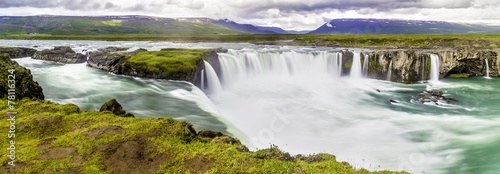 Godafoss, a beautiful waterfall - 78116324