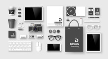 Set Of Corporate Identity And ...