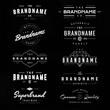 canvas print picture - vintage logo & insignia 1