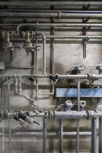 Staande foto Industrial geb. Tubazioni