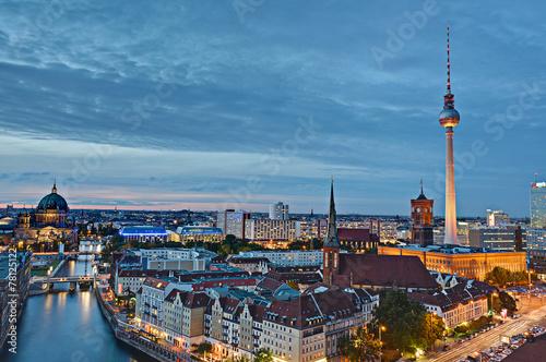 Keuken foto achterwand Berlijn Berlin von oben
