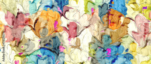 fototapeta na lodówkę Abstrakt arte