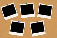 Notice Board With Polaroids