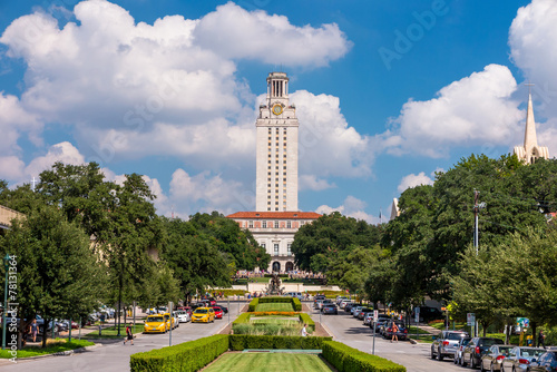 Foto op Canvas Texas University of Texas