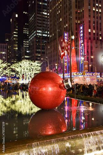 Fotografie, Obraz  Christmas Decorations, New York