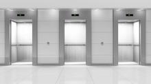 Modern Elevator Hall Interior
