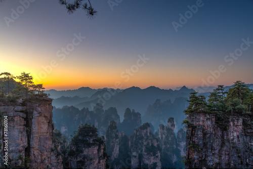 Tuinposter China 武陵源 風景イメージ
