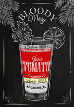 Bloody Mary Cocktail Chalk