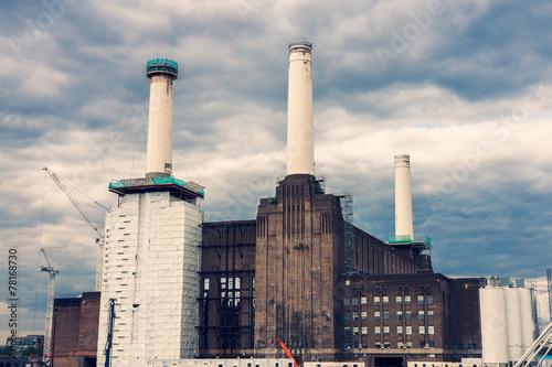 Battersea Power Station in Chelsea, London Poster