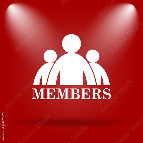 Fotografía  Members icon