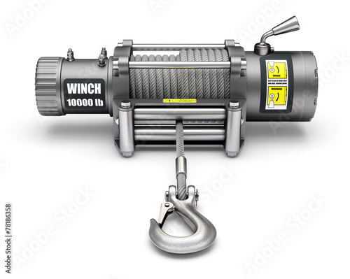 Electric winch Canvas