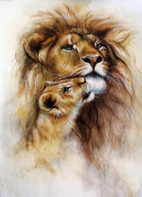 Beautiful Airbrush Painting Of...