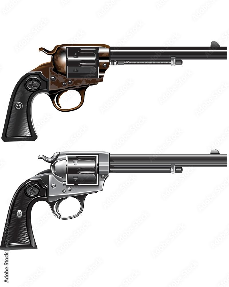 Fototapeta revolver Marshal