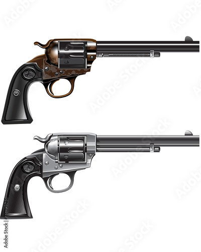 revolver Marshal Canvas Print