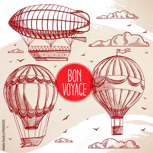 motyw-balonow-vintage