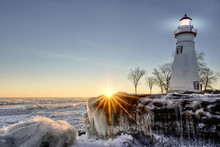 Marblehead Lighthouse Winter S...