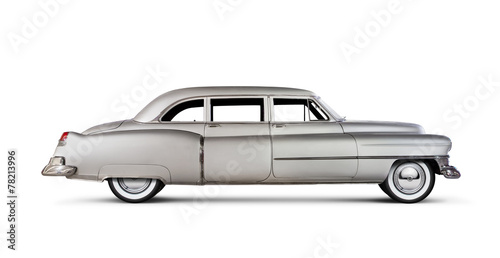 Poster Vintage voitures Cadillac Fleetwood 1951