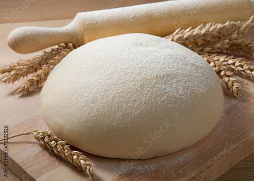 Fotografija Fresh dough on the table