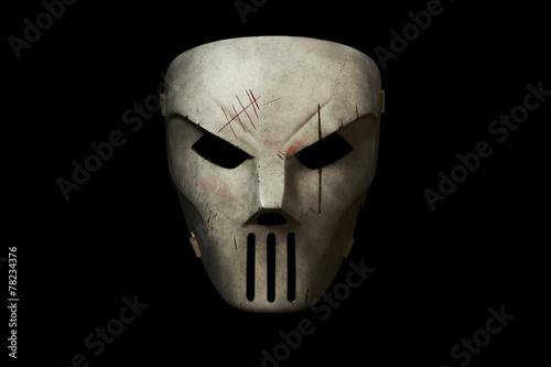 Fotografie, Tablou Model of creepy horror mask