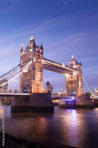 Fototapety, obrazy: Tower Bridge, London, England
