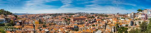 Wall Murals Prague Lisbon Skyline