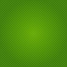 Vector Polka Dot Seamless Green Background