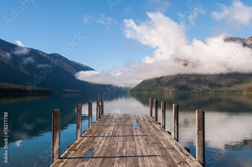 Canvas Prints New Zealand Nelson Lakes National Park New Zealand