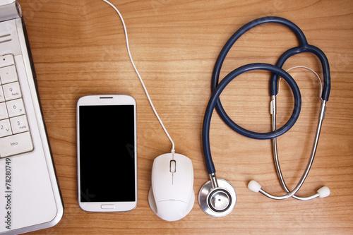 Fotografia, Obraz  worktable healthcare, medicine