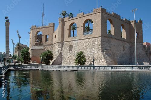 Libia. Tripoli il castello Assaraya - Al-Hamra