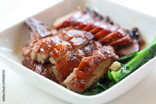 BBQ duck and pork Poster