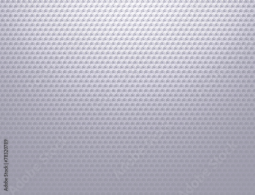 Soft silver grey metal grid pattern wallpaper Canvas Print