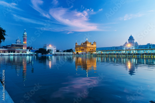 Fotografie, Obraz  Golden Temple in the evening. Amritsar. India