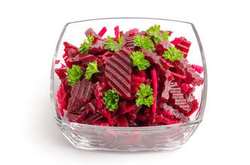 Fototapeta Warzywa Rote-Beete-Salat