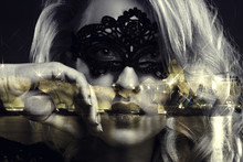Girl In Mask Looks