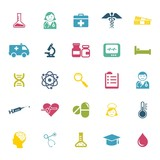 health and science icons