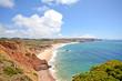 Praia do Amado, Beach and Surfer spot, Algarve Portugal