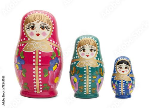 Fotografie, Obraz  Russian Dolls