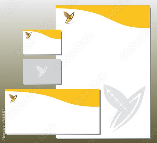 Charte Graphique Feuillage Forme Y
