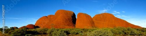 In de dag Australië Olgas, Kata Tjuta, Nothern Territory, Australia