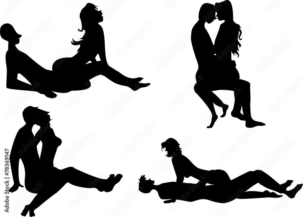 Fototapety, obrazy: Positions femme dominante