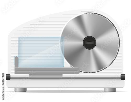 Fotografie, Obraz  electric kitchen slicer vector illustration