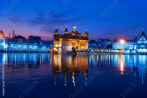 Fototapeta  Golden Temple in the evening. Amritsar. India