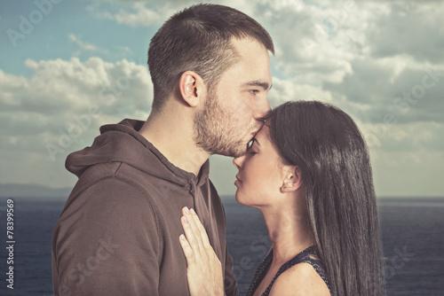 Fotografia  Пара любящих людей.