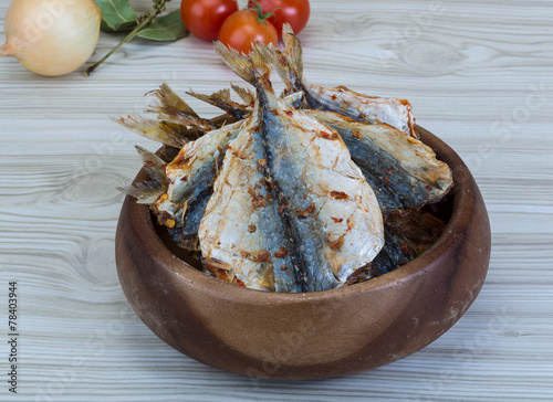 Valokuva  Dry fish