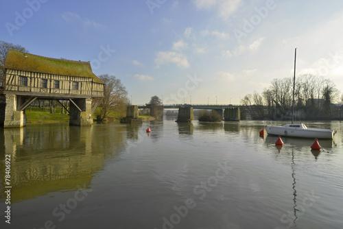 Fotografia, Obraz  Vernon sur la Seine, Eure, Haute Normandie