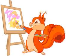 Squirrel Artist
