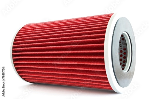 Photo  Fuel filter for engine car